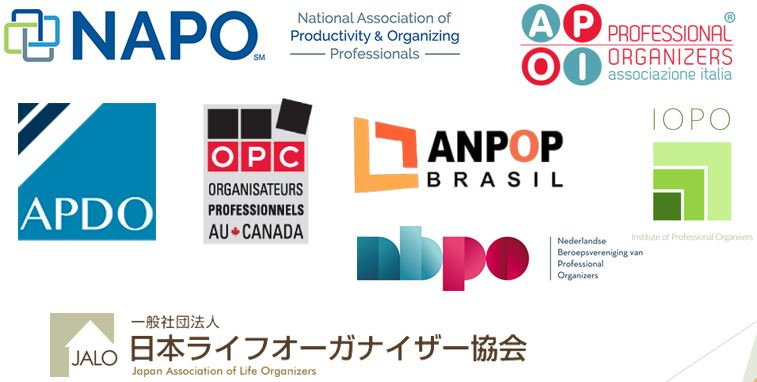Fédérations PO monde logos